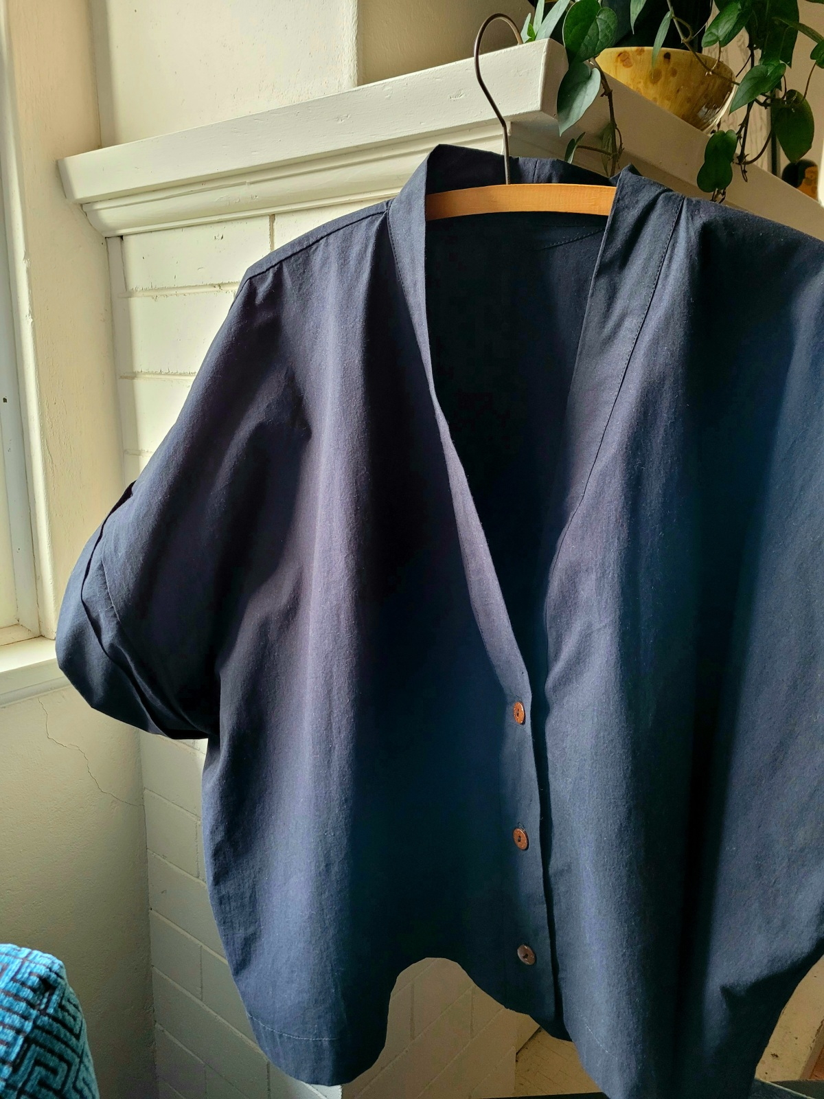 Zero Waste Sewing – Pattern testing extended size of ZW CroppedShirt